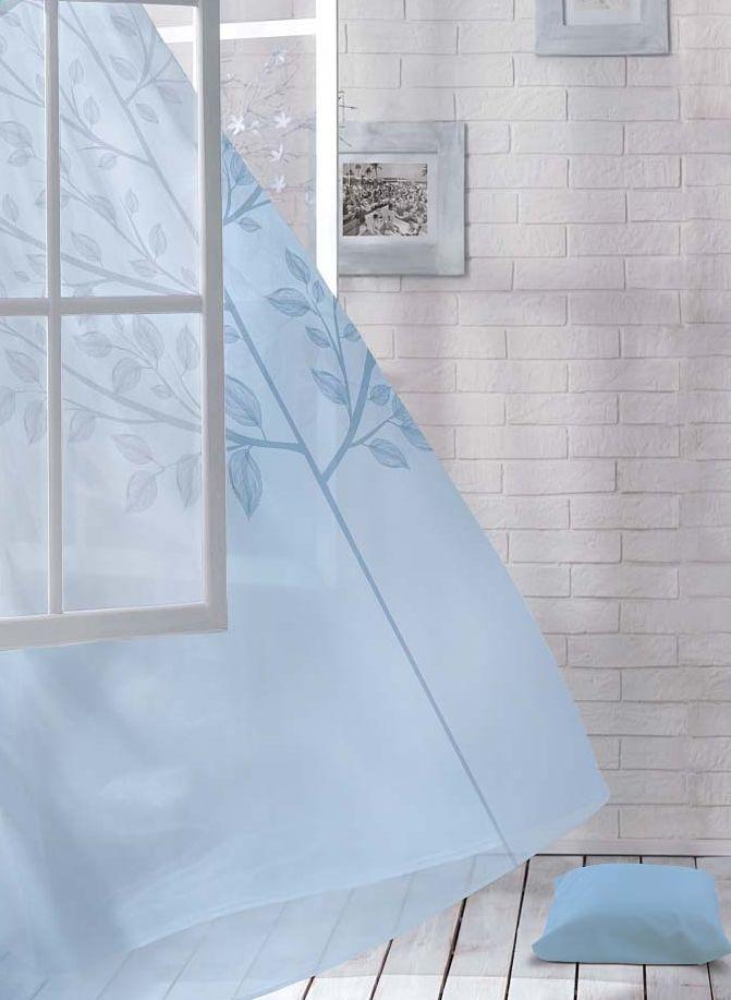 Комплект штор Волшебная ночь Dove, на ленте, цвет: голубой, высота 270 см956251325Шторы коллекции Волшебная ночь - это готовое решение для интерьера, гарантирующее красоту, удобство и индивидуальный стиль.Шторы изготовлены из ткани вуаль, которая почти не мешает прохождению света, но защищает комнату от посторонних взглядов.Длина штор регулируется с помощью клеевой паутинки (в комплекте). Изделия крепятся на вшитую шторную ленту: на крючки или путем продевания на карниз.Высота: 270 см.