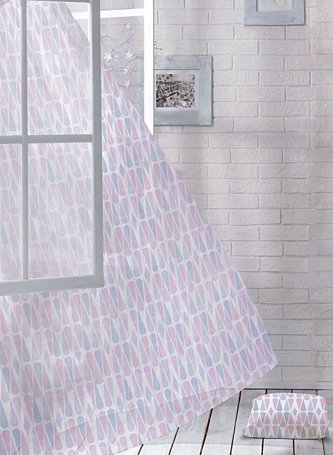 Комплект штор Волшебная ночь Vitality, на ленте, цвет: голубой, розовый, белый, высота 270 см, 2 шт705488Шторы коллекции Волшебная ночь - это готовое решение для вашего интерьера, гарантирующее красоту, удобство и индивидуальный стиль! Шторы изготовлены из тонкой и легкой ткани вуаль, которая почти не препятствует прохождению света, но защищает комнату от посторонних взглядов. Длина штор регулируется с помощью клеевой паутинки (в комплекте). Изделия крепятся на вшитую шторную ленту: на крючки или путем продевания на карниз. Дизайнеры марки Волшебная ночь предлагают уже сформированные комплекты штор из различных тканей и рисунков для создания идеальной композиции на окне. Для удобства выбора дизайны штор распределены в стилевые коллекции: этно, версаль, лофт, прованс. В коллекции Волшебная ночь к данной шторе вы также сможете подобрать шторы из других тканей: блэкаут (100% затемнение), сатен и габардин (частичное затемнение), которые будут прекрасно сочетаться по дизайну и обеспечат особый уют вашему дому.