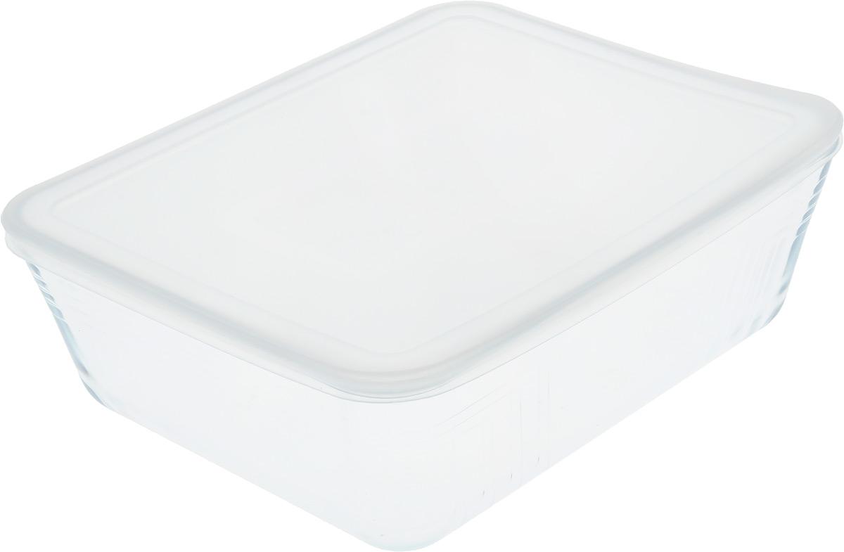 Форма для запекания Pyrex Cook & Store, с крышкой, прямоугольная, 27 х 23 х 7 смSL-8056Форма для запекания Pyrex Cook & Store изготовлена из закаленного боросиликатного стекла, что отвечает строгим европейским нормам безопасности EN 1183. Такое стекло обладает повышенной ударопрочностью, жаропрочностью (от -40°С до +300°С) и выдерживает резкий перепад температур в 220°С. Форма также устойчива к образованию пятен и царапин, не впитывает посторонние запахи. Изделие экологично, поэтому безопасно для использования. Форма прямоугольная, удобна для запекания мяса, курицы, овощей. Снабжена пластиковой, плотно закрывающейся крышкой. Подходит для духовки, микроволновой печи, можно мыть в посудомоечной машине, ставить в холодильник и морозильную камеру. Крышка не подходит для духовки.