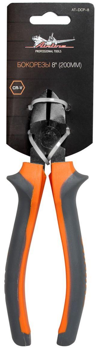 Бокорезы Airline, длина 20 см26152500JAБокорезы Airline изготовлен из специальной высококачественной инструментальной стали. При производстве заготовки подвергаются закалке и отпуску, для улучшения рабочих характеристик инструментов. Режущие кромки подвергаются индукционной закалке. Применяется финишное покрытие двух типов: хромирование и фосфатирование. Рукоятки бокорезы Airline создают комфортное ощущение при работе, а специальная форма гарантирует безопасность труда и снижение усталости при работе.