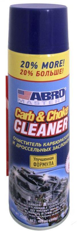 Очиститель карбюратора Abro Masters + 20% салфетка влаговпитывающая abro masters цвет желтый