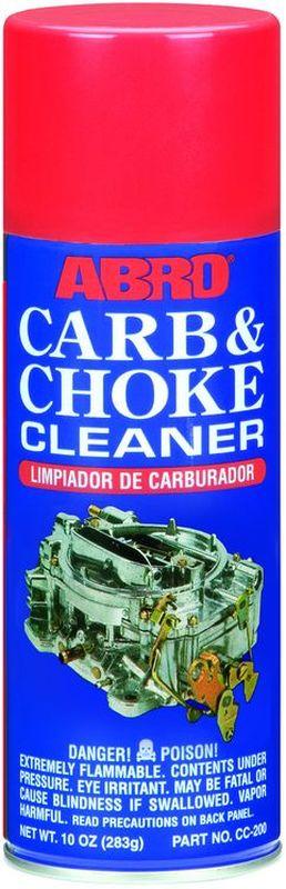 Очиститель карбюратора Abro, 283 гRC-100BPCРастворяет и удаляет углеродистые отложения, нагар, масло и прочие загрязнения с дроссельных заслонок, карбюратора и прочих деталей топливной системы. Подходит для карбюраторных и инжекторных двигателей (EFI, MPI, GDI, FSI и т. д.). Использование очистителя карбюратора и дроссельных заслонок позволяет снизить расход топлива, улучшить запуск двигателя, восстановить стабильность холостых оборотов. При использовании бензина низкого качества рекомендуется использовать очиститель карбюратора каждые 7000–10 000 км.Помимо основного предназначения можно использовать для очистки любых маслянистых загрязнений, нагара, смазки.