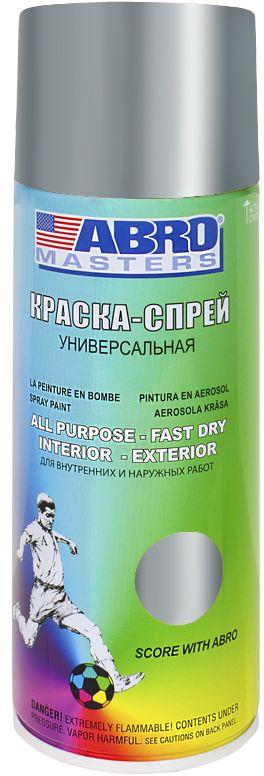 Краска-спрей Abro Masters, цвет: хромRC-100BWCКраска-спрей применяется для окраски металлических и деревянных поверхностей различных предметов. Используется как для внутренних (домашних), так и наружных работ. После высыхания не токсична.