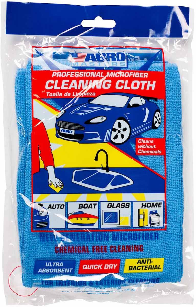 Салфетка протирочная Abro Masters, цвет: синий салфетка влаговпитывающая abro masters цвет желтый