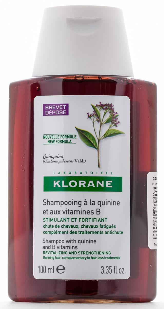 Klorane Шампунь Thinning Hair с экстрактом Хинина укрепляющий 100 млFS-36054Укрепляющий шампунь с хинином - настоящий источник энергии и силы для усталых волос. Благодаря укрепляющему и стимулирующему действию шампуня с хинином волосы вновь обретают здоровье и красоту. Мягкая моющая основа очищает волосы, не повреждая их, и позволяет мыть голову так часто, как это необходимо. Бережно очищает и укрепляет волосы