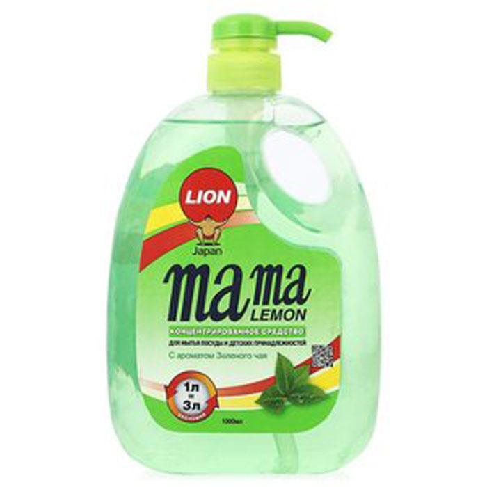 Гель для мытья посуды и детских принадлежностей Mama Lemon Green Tea, с ароматом зеленого чая, 1000 мл6.295-875.0Для мытья посуды, овощей и фруктов, для мытья детских принадлежностей, на основе природных минералов, Cистема Двойного Обезжиривания (AFDS), 3х концентрация, не сушит руки, на основе природных минералов, устраняет неприятные запахи