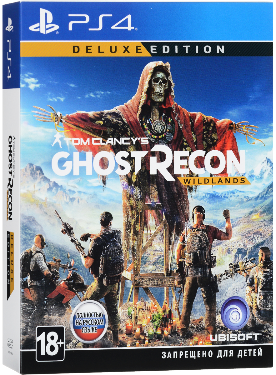 Tom Clancy's Ghost Recon Wildlands. Deluxe Edition (PS4)