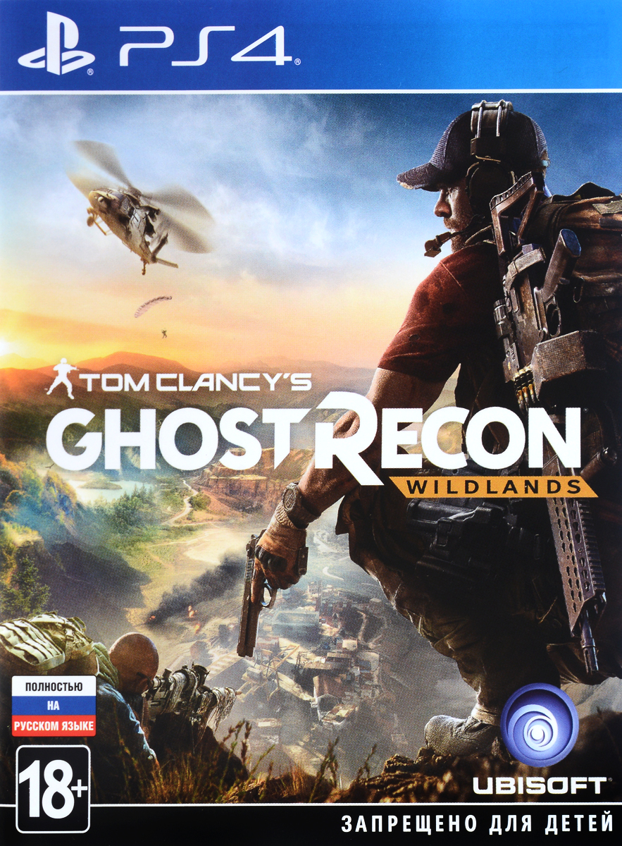 Tom Clancy's Ghost Recon Wildlands. Day 1 Edition (PS4)