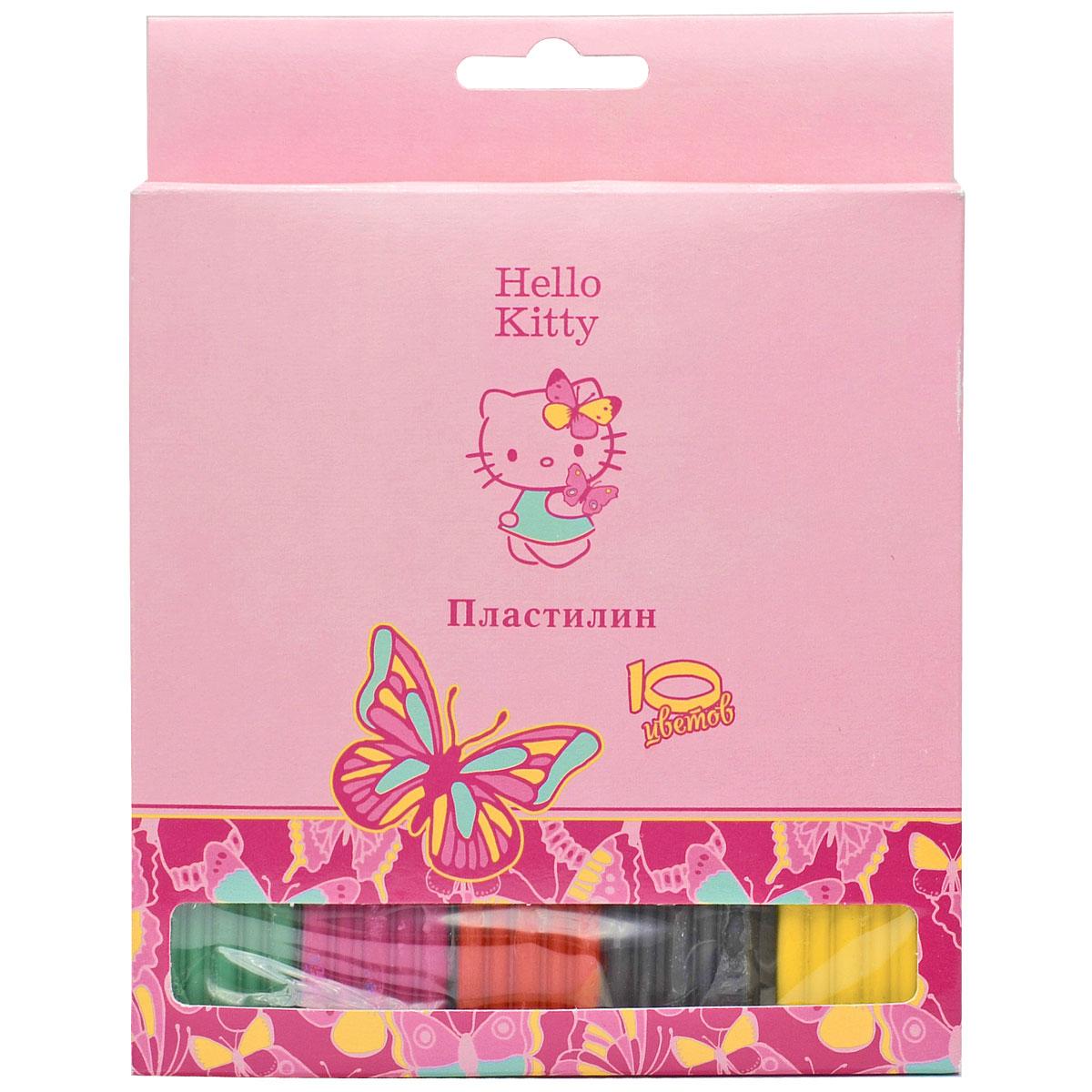Action! Пластилин Hello Kitty 10 цветов00-00007326Набор пластилина Action! Hello Kitty поможет вашему малышу создавать не только прекрасные поделки, но и рисунки. Пластилин обладает особой мягкостью и пластичностью: легко разминается и моделируется детскими пальчиками, не пачкается, не прилипает к рукам и рабочей поверхности, не крошится, не высыхает и хорошо держит форму.Смешивайте цвета, экспериментируйте и развивайте малютку: лепка активно тренирует у ребенка мелкую моторику и умение работать пальчиками, развивает тактильное восприятие формы, веса и фактуры, совершенствует воображение и пространственное мышление.