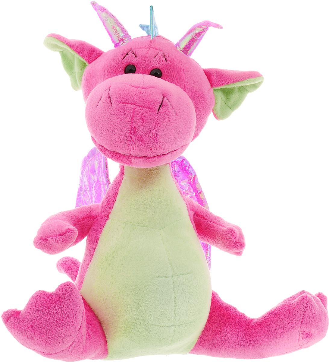Funny Mishka Мягкая игрушка Дракон цвет розовый