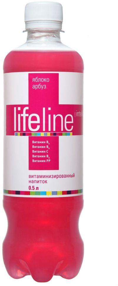 Lifeline Intellectual арбуз, яблоко, 0,5 л4607050695307Lifeline - функциональные витаминные напитки, созданные для людей, которые заботятся о своем здоровье и хотят, чтобы их жизнь была яркой, насыщенной и интересной.Витаминные комплексы, входящие в состав напитка, помогут устранить дефицит витаминов в организме, а разнообразие вкусов и свойств позволит каждому выбрать напиток себе по душе.Напитки Lifeline - удовольствие и польза в одной бутылке!