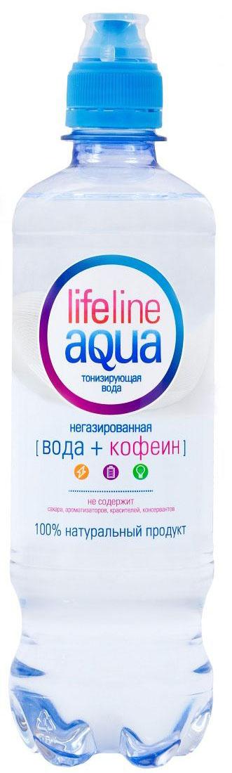 Lifeline Aqua вода тонизирующая негазированная с дозатором, 0,5 л0120710Безалкогольный тонизирующий напиток Lifeline Aqua.