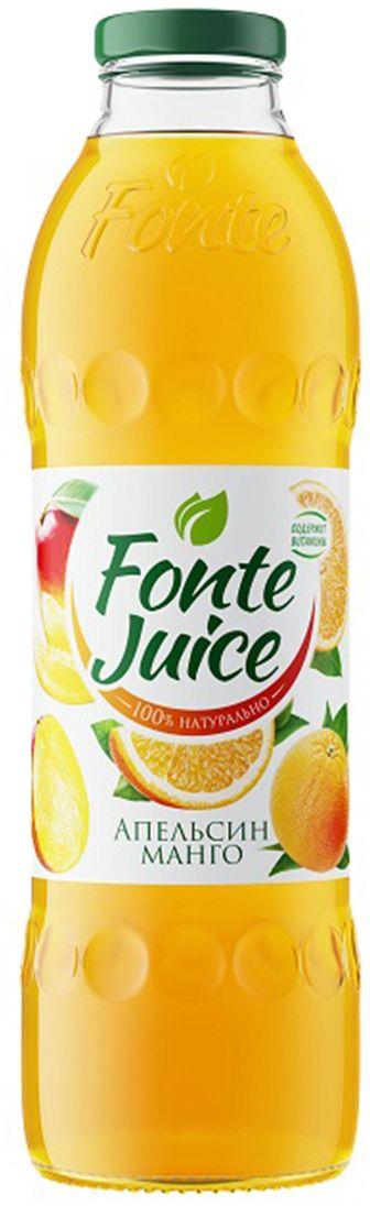 Fonte juice Нектар апельсин, манго, 0,75 л4607050696588Яркий и бодрящий вкус апельсина соединяется с солнечной сладостью манго, чтобы наполнить твое утро бодростью и придать заряд оптимизма на целый день. Источник твоего оптимизма!