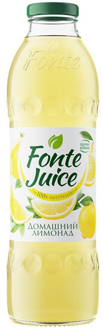 Fonte juice Домашний лимонад напиток сокосодержащий, 0,75 л4607050696687Напиток сокосодержащий Домашний лимонад, обогащенный витаминами. Освежающий вкус домашнего лимонада утоляет жажду, а ценные витамины в составе мгновенно заряжают тебя энергией. Источник твоей активности!