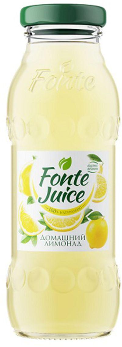 Fonte juice Домашний лимонад напиток сокосодержащий, 0,2 л0120710Напиток сокосодержащий Домашний лимонад, обогащенный витаминами. Освежающий вкус домашнего лимонада утоляет жажду, а ценные витамины в составе мгновенно заряжают тебя энергией. Источник твоей активности!