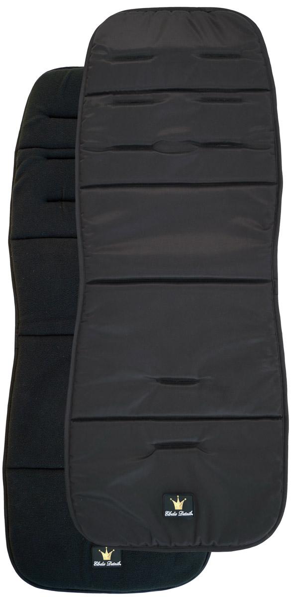 Elodie Details Матрасик в коляску Black Edition