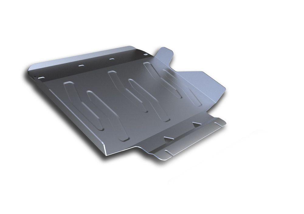 Защита радиатора Rival, для Infiniti QX80, Infiniti QX56, алюминий 4 ммSVC-300Защита радиатора для Infiniti QX80 V - 5,6 2013-; Infiniti QX56 V - 5,6 2010-2013; , без крепежа (штатный), алюминий 4 мм, Rival Алюминиевые защиты картера Rival надежно защищают днище вашего автомобиля от повреждений, например при наезде на бордюры, а также выполняют эстетическую функцию при установке на высокие автомобили. - Толщина алюминиевых защит в 2 раза толще стальных, а вес при этом меньше до 30%. - Отлично отводит тепло от двигателя своей поверхностью, что спасает двигатель от перегрева в летний период или при высоких нагрузках. - В отличие от стальных, алюминиевые защиты не поддаются коррозии, что гарантирует срок службы защит более 5 лет. - Покрываются порошковой краской, что надолго сохраняет первоначальный вид новой защиты и защищает от гальванической коррозии. - Глубокий штамп дополнительно усиливает конструкцию защиты. - Подштамповка в местах крепления защищает крепеж от срезания. - Технологические отверстия там, где они необходимы для смены масла и слива воды, оборудованные заглушками, надежно закрепленными на защите. Уважаемые клиенты! Обращаем ваше внимание, на тот факт, что защита имеет форму, соответствующую модели данного автомобиля. Фото служит для визуального восприятия товара.