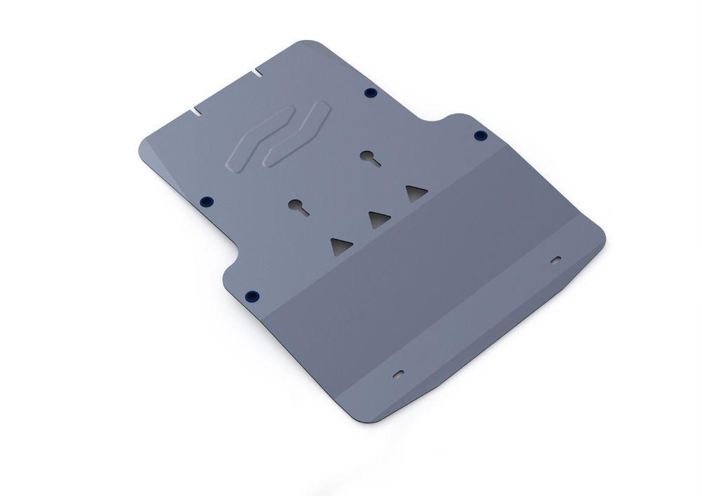 Защита картера и КПП Rival, для Audi A6, алюминий 4 мм2706 (ПО)Защита картера и КПП для Audi A6 , V - 2,7TD, 3,0TD, 3,2, 4,2 2004-2011, крепеж в комплекте, алюминий 4 мм, Rival Алюминиевые защиты картера Rival надежно защищают днище вашего автомобиля от повреждений, например при наезде на бордюры, а также выполняют эстетическую функцию при установке на высокие автомобили. - Толщина алюминиевых защит в 2 раза толще стальных, а вес при этом меньше до 30%. - Отлично отводит тепло от двигателя своей поверхностью, что спасает двигатель от перегрева в летний период или при высоких нагрузках. - В отличие от стальных, алюминиевые защиты не поддаются коррозии, что гарантирует срок службы защит более 5 лет. - Покрываются порошковой краской, что надолго сохраняет первоначальный вид новой защиты и защищает от гальванической коррозии. - Глубокий штамп дополнительно усиливает конструкцию защиты. - Подштамповка в местах крепления защищает крепеж от срезания. - Технологические отверстия там, где они необходимы для смены масла и слива воды, оборудованные заглушками, надежно закрепленными на защите. Уважаемые клиенты! Обращаем ваше внимание, на тот факт, что защита имеет форму, соответствующую модели данного автомобиля. Фото служит для визуального восприятия товара.