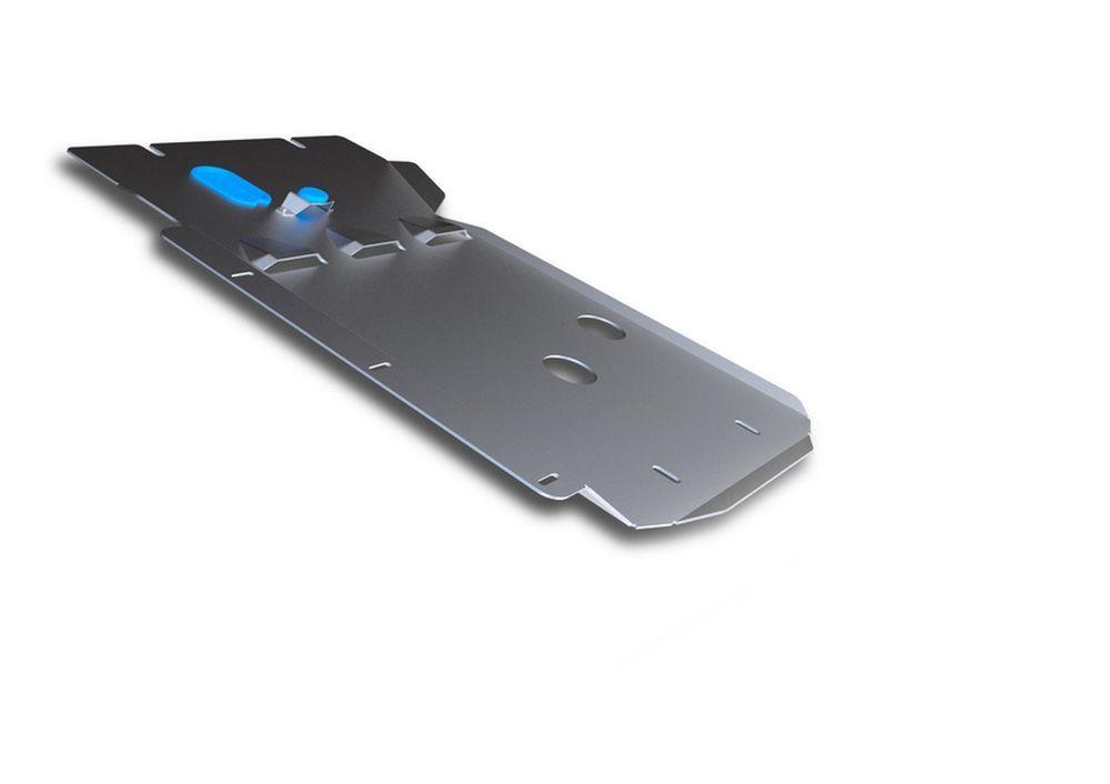 Защита КПП и РК Rival, для BMW X1, алюминий 4 мм21395599Защита КПП и РК для BMW X1 4WD , 20i; 20d; 25d 2009-2015, крепеж в комплекте, алюминий 4 мм, Rival Алюминиевые защиты картера Rival надежно защищают днище вашего автомобиля от повреждений, например при наезде на бордюры, а также выполняют эстетическую функцию при установке на высокие автомобили. - Толщина алюминиевых защит в 2 раза толще стальных, а вес при этом меньше до 30%. - Отлично отводит тепло от двигателя своей поверхностью, что спасает двигатель от перегрева в летний период или при высоких нагрузках. - В отличие от стальных, алюминиевые защиты не поддаются коррозии, что гарантирует срок службы защит более 5 лет. - Покрываются порошковой краской, что надолго сохраняет первоначальный вид новой защиты и защищает от гальванической коррозии. - Глубокий штамп дополнительно усиливает конструкцию защиты. - Подштамповка в местах крепления защищает крепеж от срезания. - Технологические отверстия там, где они необходимы для смены масла и слива воды, оборудованные заглушками, надежно закрепленными на защите. Уважаемые клиенты! Обращаем ваше внимание, на тот факт, что защита имеет форму, соответствующую модели данного автомобиля. Фото служит для визуального восприятия товара.