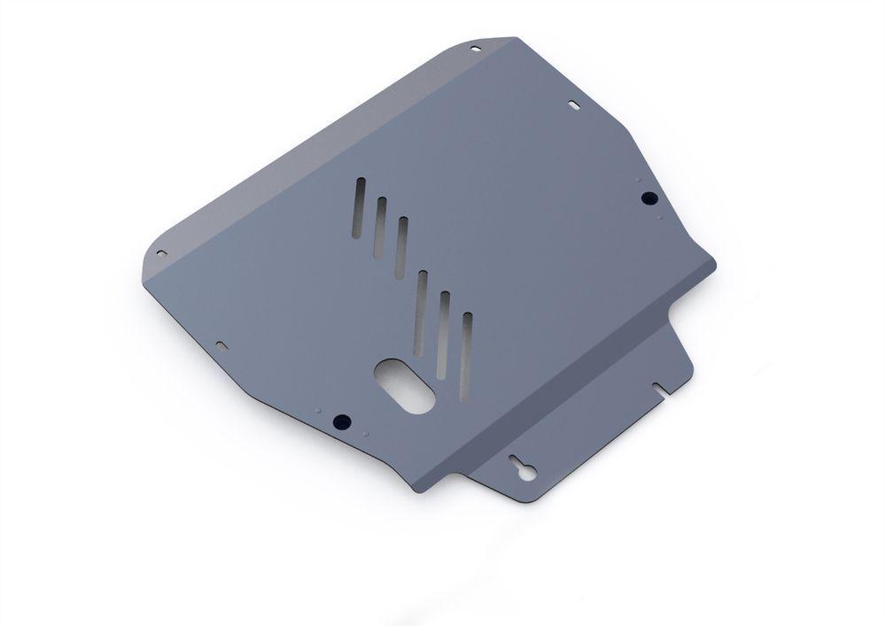 Защита картера и КПП Rival, для Hyundai ix55, алюминий 4 мм2706 (ПО)Защита картера и КПП для Hyundai ix55 , V - 3,8 2008-2012, крепеж в комплекте, алюминий 4 мм, Rival Алюминиевые защиты картера Rival надежно защищают днище вашего автомобиля от повреждений, например при наезде на бордюры, а также выполняют эстетическую функцию при установке на высокие автомобили. - Толщина алюминиевых защит в 2 раза толще стальных, а вес при этом меньше до 30%. - Отлично отводит тепло от двигателя своей поверхностью, что спасает двигатель от перегрева в летний период или при высоких нагрузках. - В отличие от стальных, алюминиевые защиты не поддаются коррозии, что гарантирует срок службы защит более 5 лет. - Покрываются порошковой краской, что надолго сохраняет первоначальный вид новой защиты и защищает от гальванической коррозии. - Глубокий штамп дополнительно усиливает конструкцию защиты. - Подштамповка в местах крепления защищает крепеж от срезания. - Технологические отверстия там, где они необходимы для смены масла и слива воды, оборудованные заглушками, надежно закрепленными на защите. Уважаемые клиенты! Обращаем ваше внимание, на тот факт, что защита имеет форму, соответствующую модели данного автомобиля. Фото служит для визуального восприятия товара.