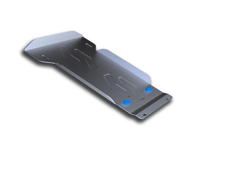 Защита КПП Rival, часть 1 для Hyundai H1, алюминий 4 мм98298123_черныйЗащита КПП часть 1 для Hyundai H1 , V - Все 2007-, крепеж в комплекте, алюминий 4 мм, Rival Алюминиевые защиты картера Rival надежно защищают днище вашего автомобиля от повреждений, например при наезде на бордюры, а также выполняют эстетическую функцию при установке на высокие автомобили. - Толщина алюминиевых защит в 2 раза толще стальных, а вес при этом меньше до 30%. - Отлично отводит тепло от двигателя своей поверхностью, что спасает двигатель от перегрева в летний период или при высоких нагрузках. - В отличие от стальных, алюминиевые защиты не поддаются коррозии, что гарантирует срок службы защит более 5 лет. - Покрываются порошковой краской, что надолго сохраняет первоначальный вид новой защиты и защищает от гальванической коррозии. - Глубокий штамп дополнительно усиливает конструкцию защиты. - Подштамповка в местах крепления защищает крепеж от срезания. - Технологические отверстия там, где они необходимы для смены масла и слива воды, оборудованные заглушками, надежно закрепленными на защите. Уважаемые клиенты! Обращаем ваше внимание, на тот факт, что защита имеет форму, соответствующую модели данного автомобиля. Фото служит для визуального восприятия товара.