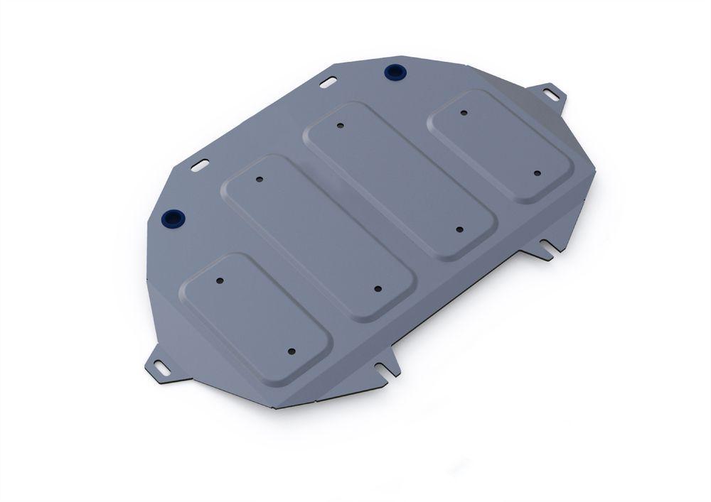 Защита картера Rival, для Hyundai Genesis, 2 часть, алюминий 4 ммCA-3505Защита картера часть 2 для Hyundai Genesis G80 2017-, V - 2.0; полный привод / Hyundai Genesis 4WD G90 2016-, V-3.3 / Hyundai Genesis 4WD 2014-2017, V-3.0; 3.8, крепеж в комплекте, алюминий 4 мм, Rival Алюминиевые защиты картера Rival надежно защищают днище вашего автомобиля от повреждений, например при наезде на бордюры, а также выполняют эстетическую функцию при установке на высокие автомобили. - Толщина алюминиевых защит в 2 раза толще стальных, а вес при этом меньше до 30%. - Отлично отводит тепло от двигателя своей поверхностью, что спасает двигатель от перегрева в летний период или при высоких нагрузках. - В отличие от стальных, алюминиевые защиты не поддаются коррозии, что гарантирует срок службы защит более 5 лет. - Покрываются порошковой краской, что надолго сохраняет первоначальный вид новой защиты и защищает от гальванической коррозии. - Глубокий штамп дополнительно усиливает конструкцию защиты. - Подштамповка в местах крепления защищает крепеж от срезания. - Технологические отверстия там, где они необходимы для смены масла и слива воды, оборудованные заглушками, надежно закрепленными на защите. - Помимо основной функции защиты от удара, конструкция так же существенно снижает попадание в моторный отсек влаги и грязи.В комплекте инструкция по установке и крепеж.Уважаемые клиенты! Обращаем ваше внимание, на тот факт, что защита имеет форму, соответствующую модели данного автомобиля. Фото служит для визуального восприятия товара.