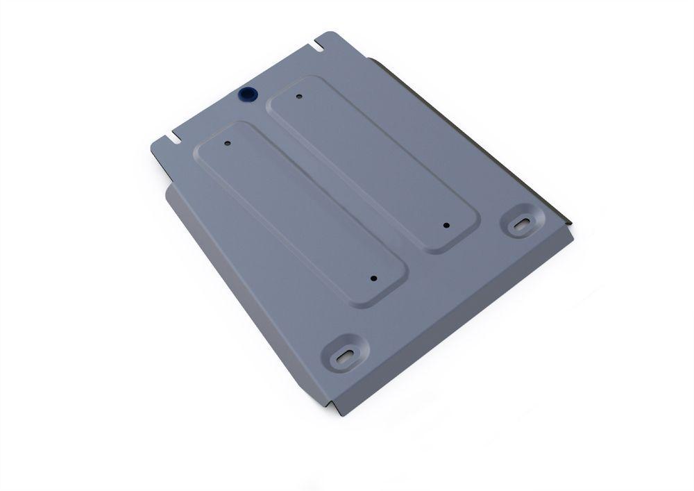 Защита КПП Rival, для Hyundai Genesis, алюминий 4 мм1004900000360Защита КПП для Hyundai Genesis G80 2017-, V - 2.0; полный привод / Hyundai Genesis G90 2016-, V-3.3; полный привод; / Hyundai Genesis 2014-2017, V-3.0; 3.8; полный привод, крепеж в комплекте, алюминий 4 мм, Rival Алюминиевые защиты картера Rival надежно защищают днище вашего автомобиля от повреждений, например при наезде на бордюры, а также выполняют эстетическую функцию при установке на высокие автомобили. - Толщина алюминиевых защит в 2 раза толще стальных, а вес при этом меньше до 30%. - Отлично отводит тепло от двигателя своей поверхностью, что спасает двигатель от перегрева в летний период или при высоких нагрузках. - В отличие от стальных, алюминиевые защиты не поддаются коррозии, что гарантирует срок службы защит более 5 лет. - Покрываются порошковой краской, что надолго сохраняет первоначальный вид новой защиты и защищает от гальванической коррозии. - Глубокий штамп дополнительно усиливает конструкцию защиты. - Подштамповка в местах крепления защищает крепеж от срезания. - Технологические отверстия там, где они необходимы для смены масла и слива воды, оборудованные заглушками, надежно закрепленными на защите. - Помимо основной функции защиты от удара, конструкция так же существенно снижает попадание в моторный отсек влаги и грязи.Уважаемые клиенты! Обращаем ваше внимание, на тот факт, что защита имеет форму, соответствующую модели данного автомобиля. Фото служит для визуального восприятия товара.