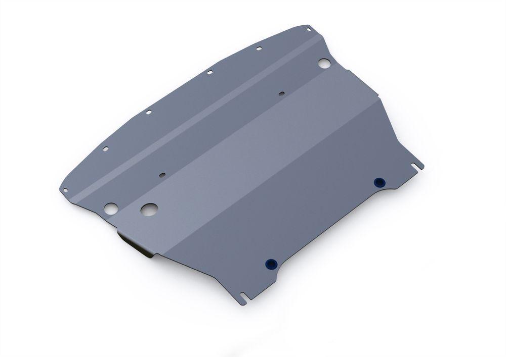 Защита картера Rival, для Infiniti G 25, алюминий 4 мм1004900000360Защита картера для Infiniti G 25 , V - 2,5 2010-2013, крепеж в комплекте, алюминий 4 мм, Rival Алюминиевые защиты картера Rival надежно защищают днище вашего автомобиля от повреждений, например при наезде на бордюры, а также выполняют эстетическую функцию при установке на высокие автомобили. - Толщина алюминиевых защит в 2 раза толще стальных, а вес при этом меньше до 30%. - Отлично отводит тепло от двигателя своей поверхностью, что спасает двигатель от перегрева в летний период или при высоких нагрузках. - В отличие от стальных, алюминиевые защиты не поддаются коррозии, что гарантирует срок службы защит более 5 лет. - Покрываются порошковой краской, что надолго сохраняет первоначальный вид новой защиты и защищает от гальванической коррозии. - Глубокий штамп дополнительно усиливает конструкцию защиты. - Подштамповка в местах крепления защищает крепеж от срезания. - Технологические отверстия там, где они необходимы для смены масла и слива воды, оборудованные заглушками, надежно закрепленными на защите. Уважаемые клиенты! Обращаем ваше внимание, на тот факт, что защита имеет форму, соответствующую модели данного автомобиля. Фото служит для визуального восприятия товара.