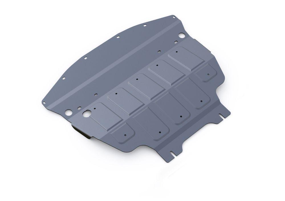 Защита картера Rival, для Infiniti Q70, алюминий 4 мм. 333.2412.11004900000360Защита картера для Infiniti Q70, V - 3,7 2014-, крепеж в комплекте, алюминий 4 мм, Rival Алюминиевые защиты картера Rival надежно защищают днище вашего автомобиля от повреждений, например при наезде на бордюры, а также выполняют эстетическую функцию при установке на высокие автомобили. - Толщина алюминиевых защит в 2 раза толще стальных, а вес при этом меньше до 30%. - Отлично отводит тепло от двигателя своей поверхностью, что спасает двигатель от перегрева в летний период или при высоких нагрузках. - В отличие от стальных, алюминиевые защиты не поддаются коррозии, что гарантирует срок службы защит более 5 лет. - Покрываются порошковой краской, что надолго сохраняет первоначальный вид новой защиты и защищает от гальванической коррозии. - Глубокий штамп дополнительно усиливает конструкцию защиты. - Подштамповка в местах крепления защищает крепеж от срезания. - Технологические отверстия там, где они необходимы для смены масла и слива воды, оборудованные заглушками, надежно закрепленными на защите. Уважаемые клиенты! Обращаем ваше внимание, на тот факт, что защита имеет форму, соответствующую модели данного автомобиля. Фото служит для визуального восприятия товара.