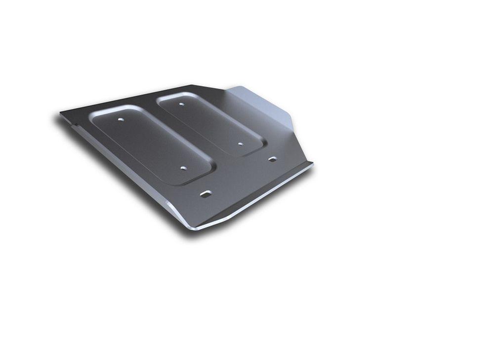 Защита РК Rival, для Infiniti Q50, алюминий 4 ммRC-100BWCЗащита РК для Infiniti Q50; 4WD, V - 3,5 Hybrid 2013-, крепеж в комплекте, алюминий 4 мм, Rival Алюминиевые защиты картера Rival надежно защищают днище вашего автомобиля от повреждений, например при наезде на бордюры, а также выполняют эстетическую функцию при установке на высокие автомобили. - Толщина алюминиевых защит в 2 раза толще стальных, а вес при этом меньше до 30%. - Отлично отводит тепло от двигателя своей поверхностью, что спасает двигатель от перегрева в летний период или при высоких нагрузках. - В отличие от стальных, алюминиевые защиты не поддаются коррозии, что гарантирует срок службы защит более 5 лет. - Покрываются порошковой краской, что надолго сохраняет первоначальный вид новой защиты и защищает от гальванической коррозии. - Глубокий штамп дополнительно усиливает конструкцию защиты. - Подштамповка в местах крепления защищает крепеж от срезания. - Технологические отверстия там, где они необходимы для смены масла и слива воды, оборудованные заглушками, надежно закрепленными на защите. Уважаемые клиенты! Обращаем ваше внимание, на тот факт, что защита имеет форму, соответствующую модели данного автомобиля. Фото служит для визуального восприятия товара.