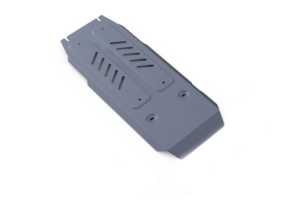 Защита КПП и РК Rival, для Infiniti Q70, алюминий 4 ммK100Защита КПП и РК для Infiniti Q70 4WD, V - 3,7 2014-, крепеж в комплекте, алюминий 4 мм, Rival Алюминиевые защиты картера Rival надежно защищают днище вашего автомобиля от повреждений, например при наезде на бордюры, а также выполняют эстетическую функцию при установке на высокие автомобили. - Толщина алюминиевых защит в 2 раза толще стальных, а вес при этом меньше до 30%. - Отлично отводит тепло от двигателя своей поверхностью, что спасает двигатель от перегрева в летний период или при высоких нагрузках. - В отличие от стальных, алюминиевые защиты не поддаются коррозии, что гарантирует срок службы защит более 5 лет. - Покрываются порошковой краской, что надолго сохраняет первоначальный вид новой защиты и защищает от гальванической коррозии. - Глубокий штамп дополнительно усиливает конструкцию защиты. - Подштамповка в местах крепления защищает крепеж от срезания. - Технологические отверстия там, где они необходимы для смены масла и слива воды, оборудованные заглушками, надежно закрепленными на защите. Уважаемые клиенты! Обращаем ваше внимание, на тот факт, что защита имеет форму, соответствующую модели данного автомобиля. Фото служит для визуального восприятия товара.