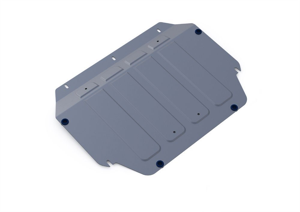 Защита картера и КПП Rival, для Kia Rio III, алюминий 4 мм1004900000360Защита картера и КПП для Kia Rio III , V - 1,4 2005-2011, крепеж в комплекте, алюминий 4 мм, Rival Алюминиевые защиты картера Rival надежно защищают днище вашего автомобиля от повреждений, например при наезде на бордюры, а также выполняют эстетическую функцию при установке на высокие автомобили. - Толщина алюминиевых защит в 2 раза толще стальных, а вес при этом меньше до 30%. - Отлично отводит тепло от двигателя своей поверхностью, что спасает двигатель от перегрева в летний период или при высоких нагрузках. - В отличие от стальных, алюминиевые защиты не поддаются коррозии, что гарантирует срок службы защит более 5 лет. - Покрываются порошковой краской, что надолго сохраняет первоначальный вид новой защиты и защищает от гальванической коррозии. - Глубокий штамп дополнительно усиливает конструкцию защиты. - Подштамповка в местах крепления защищает крепеж от срезания. - Технологические отверстия там, где они необходимы для смены масла и слива воды, оборудованные заглушками, надежно закрепленными на защите. Уважаемые клиенты! Обращаем ваше внимание, на тот факт, что защита имеет форму, соответствующую модели данного автомобиля. Фото служит для визуального восприятия товара.