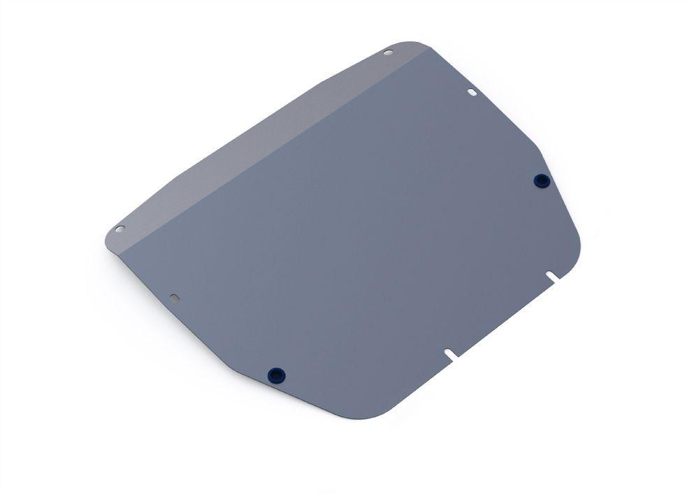 Защита картера и КПП Rival, для Kia Sorento, алюминий 4 мм21395599Защита картера и КПП для Kia Sorento , V -2,2; 2,4 2009-2012, крепеж в комплекте, алюминий 4 мм, Rival Алюминиевые защиты картера Rival надежно защищают днище вашего автомобиля от повреждений, например при наезде на бордюры, а также выполняют эстетическую функцию при установке на высокие автомобили. - Толщина алюминиевых защит в 2 раза толще стальных, а вес при этом меньше до 30%. - Отлично отводит тепло от двигателя своей поверхностью, что спасает двигатель от перегрева в летний период или при высоких нагрузках. - В отличие от стальных, алюминиевые защиты не поддаются коррозии, что гарантирует срок службы защит более 5 лет. - Покрываются порошковой краской, что надолго сохраняет первоначальный вид новой защиты и защищает от гальванической коррозии. - Глубокий штамп дополнительно усиливает конструкцию защиты. - Подштамповка в местах крепления защищает крепеж от срезания. - Технологические отверстия там, где они необходимы для смены масла и слива воды, оборудованные заглушками, надежно закрепленными на защите. Уважаемые клиенты! Обращаем ваше внимание, на тот факт, что защита имеет форму, соответствующую модели данного автомобиля. Фото служит для визуального восприятия товара.
