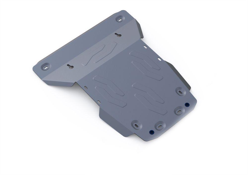 Защита картера и радиатора Rival, для Land Rover Discovery 4, алюминий 4 мм1004900000360Защита картера и радиатора для Land Rover Discovery 4 , V - все 2009-2015, крепеж в комплекте, алюминий 4 мм, Rival Алюминиевые защиты картера Rival надежно защищают днище вашего автомобиля от повреждений, например при наезде на бордюры, а также выполняют эстетическую функцию при установке на высокие автомобили. - Толщина алюминиевых защит в 2 раза толще стальных, а вес при этом меньше до 30%. - Отлично отводит тепло от двигателя своей поверхностью, что спасает двигатель от перегрева в летний период или при высоких нагрузках. - В отличие от стальных, алюминиевые защиты не поддаются коррозии, что гарантирует срок службы защит более 5 лет. - Покрываются порошковой краской, что надолго сохраняет первоначальный вид новой защиты и защищает от гальванической коррозии. - Глубокий штамп дополнительно усиливает конструкцию защиты. - Подштамповка в местах крепления защищает крепеж от срезания. - Технологические отверстия там, где они необходимы для смены масла и слива воды, оборудованные заглушками, надежно закрепленными на защите. Уважаемые клиенты! Обращаем ваше внимание, на тот факт, что защита имеет форму, соответствующую модели данного автомобиля. Фото служит для визуального восприятия товара.