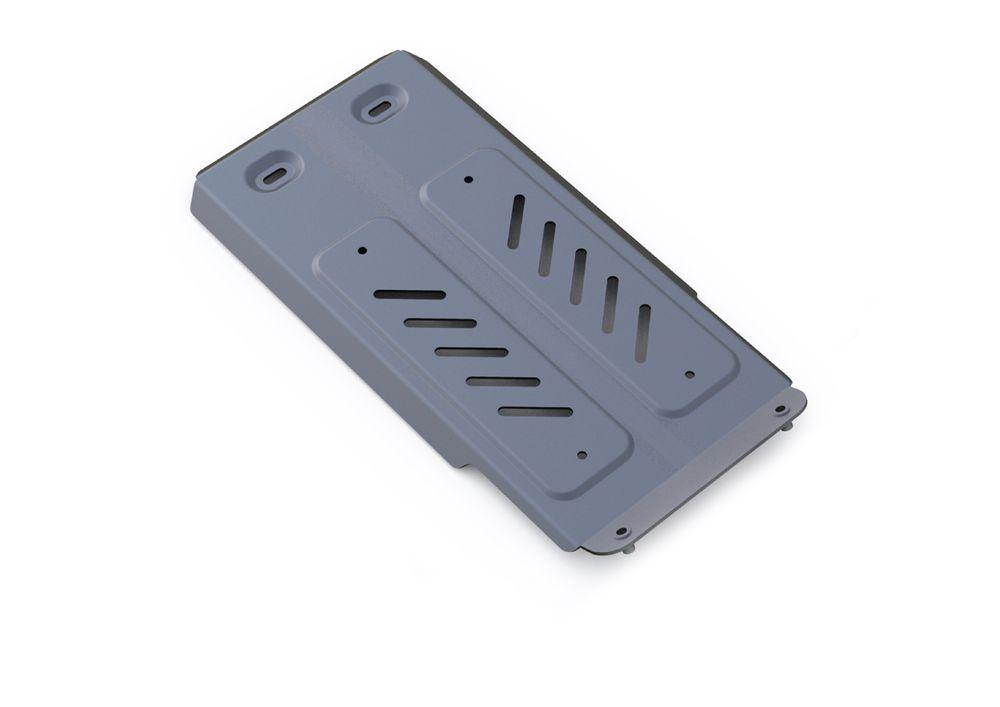 Защита КПП Rival, для Lexus GS 250, алюминий 4 мм333.3210.1Защита КПП для Lexus GS 250,V - 2,7 2013-, крепеж в комплекте, алюминий 4 мм, Rival Алюминиевые защиты картера Rival надежно защищают днище вашего автомобиля от повреждений, например при наезде на бордюры, а также выполняют эстетическую функцию при установке на высокие автомобили. - Толщина алюминиевых защит в 2 раза толще стальных, а вес при этом меньше до 30%. - Отлично отводит тепло от двигателя своей поверхностью, что спасает двигатель от перегрева в летний период или при высоких нагрузках. - В отличие от стальных, алюминиевые защиты не поддаются коррозии, что гарантирует срок службы защит более 5 лет. - Покрываются порошковой краской, что надолго сохраняет первоначальный вид новой защиты и защищает от гальванической коррозии. - Глубокий штамп дополнительно усиливает конструкцию защиты. - Подштамповка в местах крепления защищает крепеж от срезания. - Технологические отверстия там, где они необходимы для смены масла и слива воды, оборудованные заглушками, надежно закрепленными на защите. Уважаемые клиенты! Обращаем ваше внимание, на тот факт, что защита имеет форму, соответствующую модели данного автомобиля. Фото служит для визуального восприятия товара.