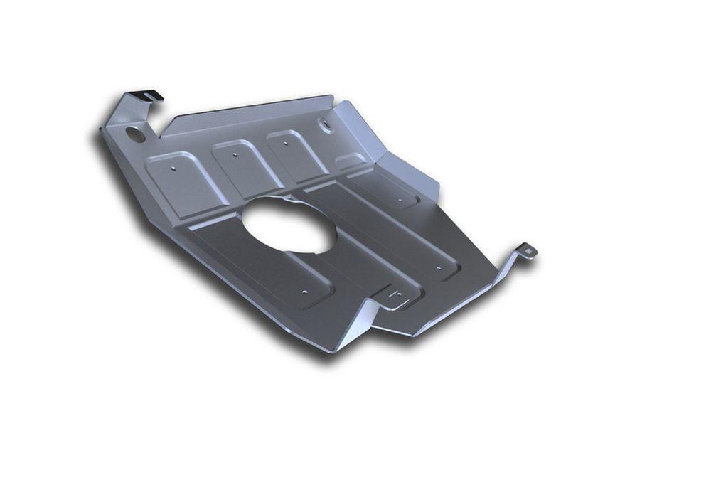 Защита топливного бака Rival, для Mercedes Benz GL350, алюминий 4 мм2706 (ПО)Защита топливного бака для Mercedes Benz GL350 CDI, V - 3,0d 2012-2016, крепеж в комплекте, алюминий 4 мм, Rival Алюминиевые защиты картера Rival надежно защищают днище вашего автомобиля от повреждений, например при наезде на бордюры, а также выполняют эстетическую функцию при установке на высокие автомобили. - Толщина алюминиевых защит в 2 раза толще стальных, а вес при этом меньше до 30%. - Отлично отводит тепло от двигателя своей поверхностью, что спасает двигатель от перегрева в летний период или при высоких нагрузках. - В отличие от стальных, алюминиевые защиты не поддаются коррозии, что гарантирует срок службы защит более 5 лет. - Покрываются порошковой краской, что надолго сохраняет первоначальный вид новой защиты и защищает от гальванической коррозии. - Глубокий штамп дополнительно усиливает конструкцию защиты. - Подштамповка в местах крепления защищает крепеж от срезания. - Технологические отверстия там, где они необходимы для смены масла и слива воды, оборудованные заглушками, надежно закрепленными на защите. Уважаемые клиенты! Обращаем ваше внимание, на тот факт, что защита имеет форму, соответствующую модели данного автомобиля. Фото служит для визуального восприятия товара.