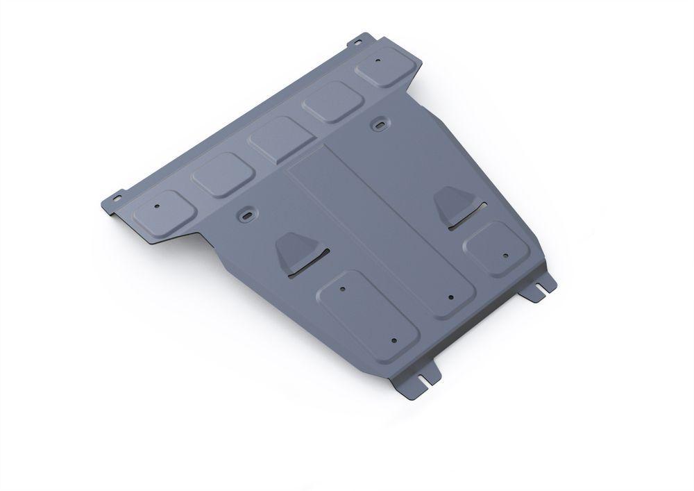 Защита картера Rival, для Mercedes Benz GLE 250d, 350d, 400, алюминий 4 мм19199Защита картера для Mercedes Benz GLE 250d, 350d, 400 2015-, крепеж в комплекте, алюминий 4 мм, Rival Алюминиевые защиты картера Rival надежно защищают днище вашего автомобиля от повреждений, например при наезде на бордюры, а также выполняют эстетическую функцию при установке на высокие автомобили. - Толщина алюминиевых защит в 2 раза толще стальных, а вес при этом меньше до 30%. - Отлично отводит тепло от двигателя своей поверхностью, что спасает двигатель от перегрева в летний период или при высоких нагрузках. - В отличие от стальных, алюминиевые защиты не поддаются коррозии, что гарантирует срок службы защит более 5 лет. - Покрываются порошковой краской, что надолго сохраняет первоначальный вид новой защиты и защищает от гальванической коррозии. - Глубокий штамп дополнительно усиливает конструкцию защиты. - Подштамповка в местах крепления защищает крепеж от срезания. - Технологические отверстия там, где они необходимы для смены масла и слива воды, оборудованные заглушками, надежно закрепленными на защите. Уважаемые клиенты! Обращаем ваше внимание, на тот факт, что защита имеет форму, соответствующую модели данного автомобиля. Фото служит для визуального восприятия товара.
