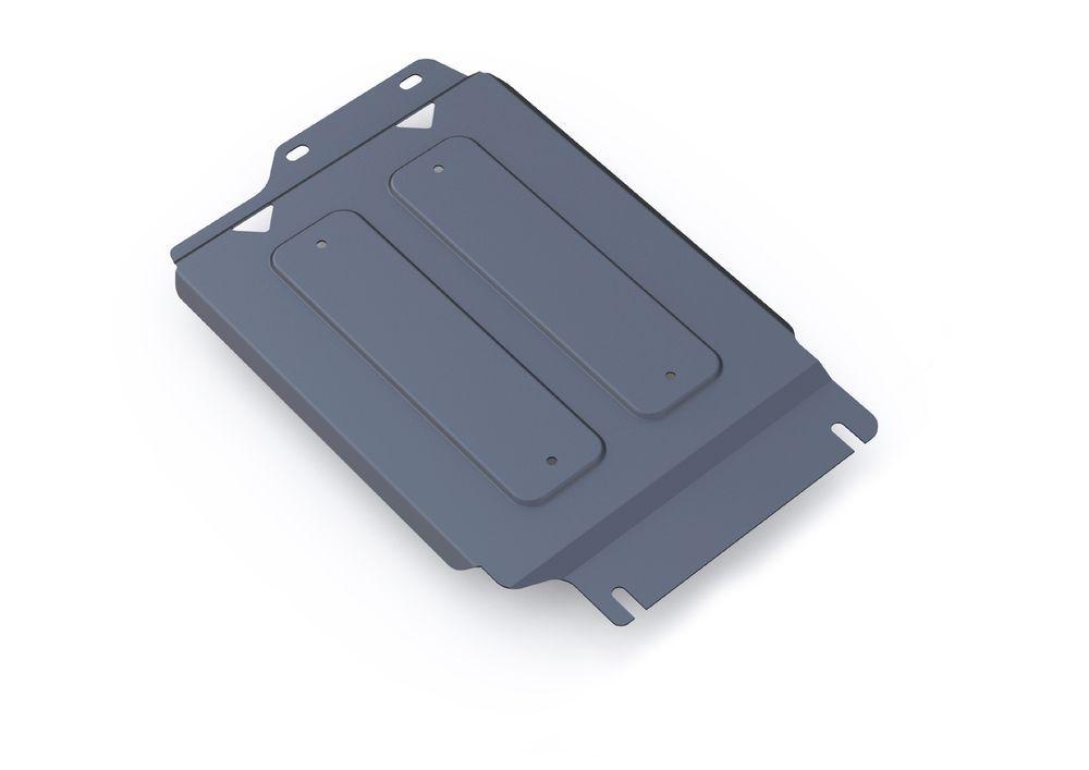 Защита РК Rival, для Infiniti QX80, Infiniti QX56, Nissan Patrol, алюминий 4 мм2706 (ПО)Защита РК для Infiniti QX80, V - 5,6 2013-; Infiniti QX56 , V - 5,6 2010-2013; Nissan Patrol , V - 5,6 2010-, крепеж в комплекте, алюминий 4 мм, Rival Алюминиевые защиты картера Rival надежно защищают днище вашего автомобиля от повреждений, например при наезде на бордюры, а также выполняют эстетическую функцию при установке на высокие автомобили. - Толщина алюминиевых защит в 2 раза толще стальных, а вес при этом меньше до 30%. - Отлично отводит тепло от двигателя своей поверхностью, что спасает двигатель от перегрева в летний период или при высоких нагрузках. - В отличие от стальных, алюминиевые защиты не поддаются коррозии, что гарантирует срок службы защит более 5 лет. - Покрываются порошковой краской, что надолго сохраняет первоначальный вид новой защиты и защищает от гальванической коррозии. - Глубокий штамп дополнительно усиливает конструкцию защиты. - Подштамповка в местах крепления защищает крепеж от срезания. - Технологические отверстия там, где они необходимы для смены масла и слива воды, оборудованные заглушками, надежно закрепленными на защите. Уважаемые клиенты! Обращаем ваше внимание, на тот факт, что защита имеет форму, соответствующую модели данного автомобиля. Фото служит для визуального восприятия товара.