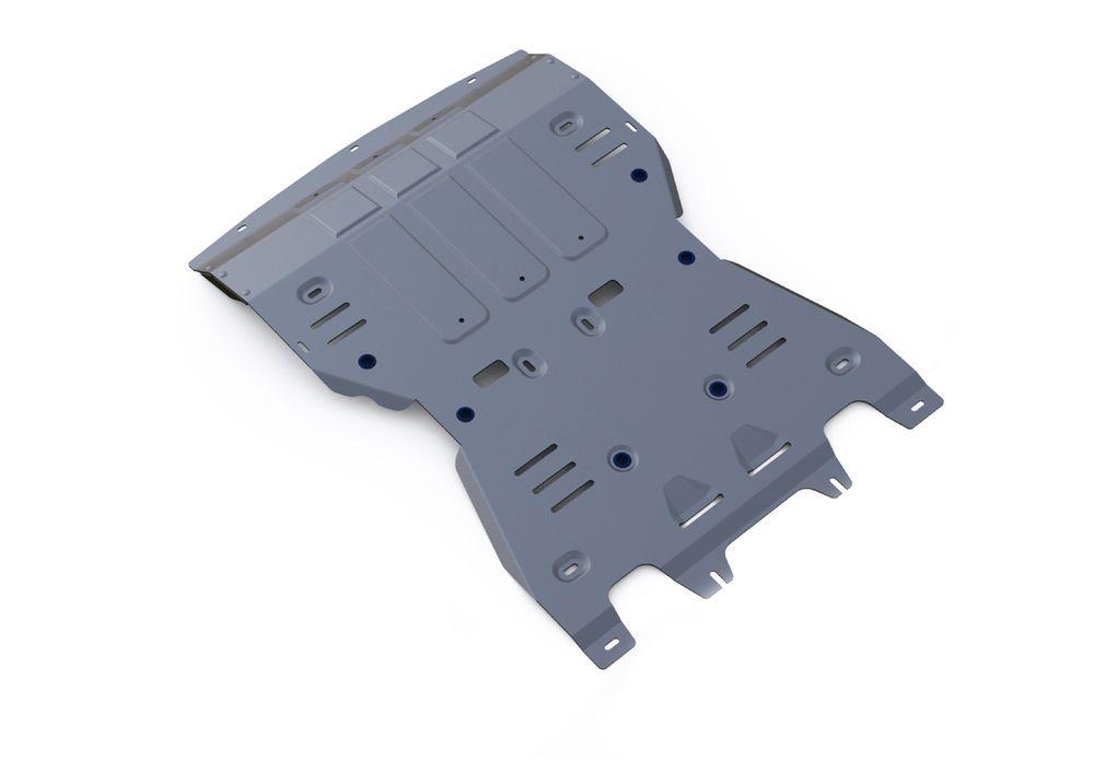 Защита КПП и РК Rival, для Porsche Macan, алюминий 4 мм1004900000360Защита КПП и РК для Porsche Macan, V - 3,0; 3,6 2014-, крепеж в комплекте, алюминий 4 мм, Rival Алюминиевые защиты картера Rival надежно защищают днище вашего автомобиля от повреждений, например при наезде на бордюры, а также выполняют эстетическую функцию при установке на высокие автомобили. - Толщина алюминиевых защит в 2 раза толще стальных, а вес при этом меньше до 30%. - Отлично отводит тепло от двигателя своей поверхностью, что спасает двигатель от перегрева в летний период или при высоких нагрузках. - В отличие от стальных, алюминиевые защиты не поддаются коррозии, что гарантирует срок службы защит более 5 лет. - Покрываются порошковой краской, что надолго сохраняет первоначальный вид новой защиты и защищает от гальванической коррозии. - Глубокий штамп дополнительно усиливает конструкцию защиты. - Подштамповка в местах крепления защищает крепеж от срезания. - Технологические отверстия там, где они необходимы для смены масла и слива воды, оборудованные заглушками, надежно закрепленными на защите. Уважаемые клиенты! Обращаем ваше внимание, на тот факт, что защита имеет форму, соответствующую модели данного автомобиля. Фото служит для визуального восприятия товара.