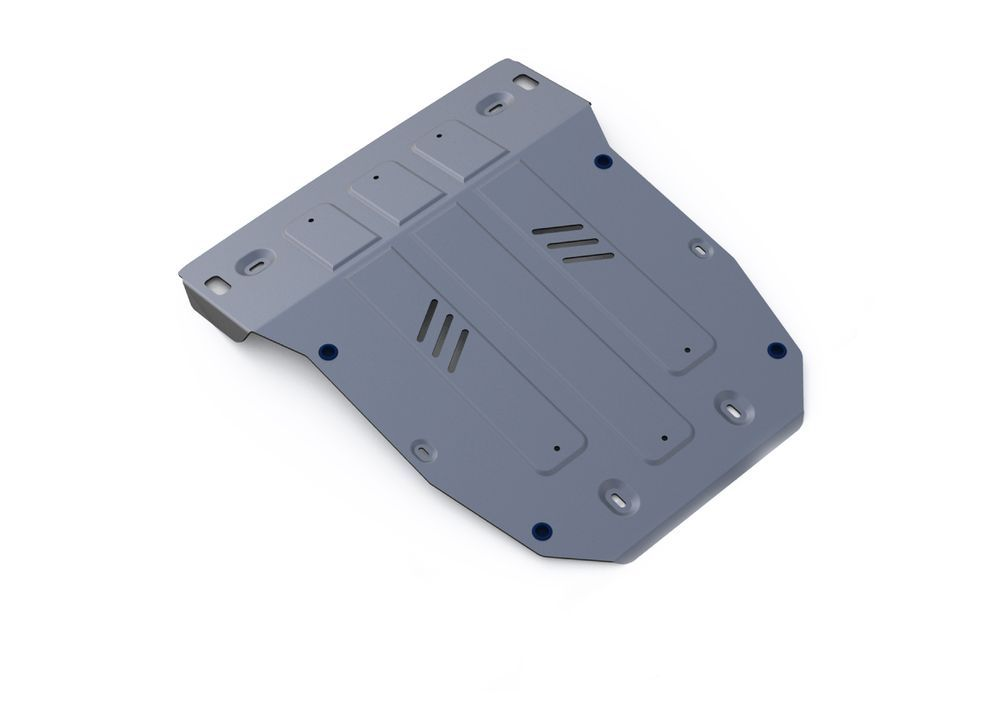 Защита картера Rival, для Porsche Cayenne, алюминий 4 мм1004900000360Защита картера для Porsche Cayenne , V - 3,0TD; 4,1TD; 4,8T (Выводим) 2014-, крепеж в комплекте, алюминий 4 мм, Rival Алюминиевые защиты картера Rival надежно защищают днище вашего автомобиля от повреждений, например при наезде на бордюры, а также выполняют эстетическую функцию при установке на высокие автомобили. - Толщина алюминиевых защит в 2 раза толще стальных, а вес при этом меньше до 30%. - Отлично отводит тепло от двигателя своей поверхностью, что спасает двигатель от перегрева в летний период или при высоких нагрузках. - В отличие от стальных, алюминиевые защиты не поддаются коррозии, что гарантирует срок службы защит более 5 лет. - Покрываются порошковой краской, что надолго сохраняет первоначальный вид новой защиты и защищает от гальванической коррозии. - Глубокий штамп дополнительно усиливает конструкцию защиты. - Подштамповка в местах крепления защищает крепеж от срезания. - Технологические отверстия там, где они необходимы для смены масла и слива воды, оборудованные заглушками, надежно закрепленными на защите. Уважаемые клиенты! Обращаем ваше внимание, на тот факт, что защита имеет форму, соответствующую модели данного автомобиля. Фото служит для визуального восприятия товара.