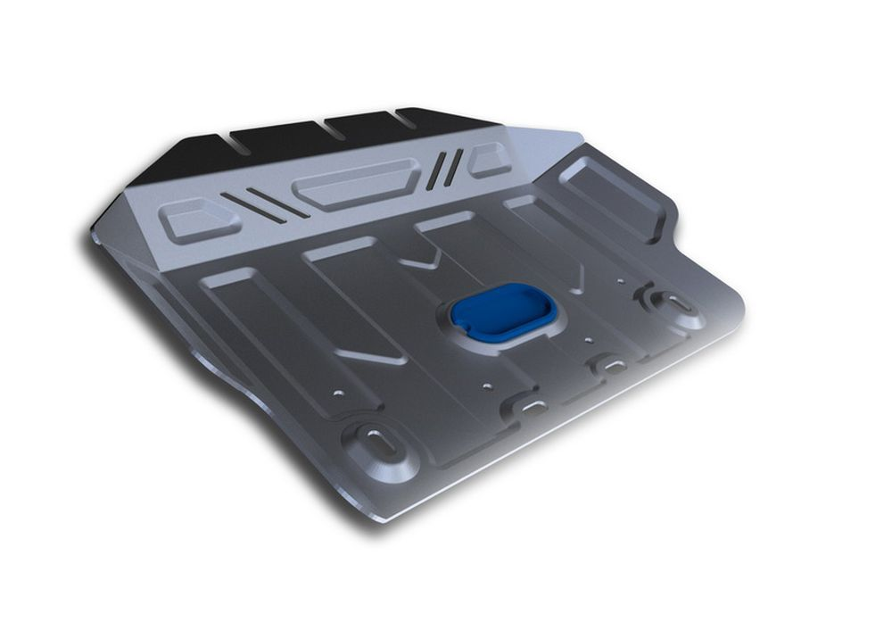 Защита картера Rival, для Lexus GX 460, Toyota LC150, Toyota FJ Cruiser, 2 часть, алюминий 4 мм2706 (ПО)Защита картера часть 2 для Lexus GX 460 , V - 4,6 2009-; Toyota LC150 , V - 2,7, 3,0TD, 4,0, 2,8TD 2009-; Toyota FJ Cruiser , V - 4,0 2010-, крепеж в комплекте, алюминий 4 мм, Rival Алюминиевые защиты картера Rival надежно защищают днище вашего автомобиля от повреждений, например при наезде на бордюры, а также выполняют эстетическую функцию при установке на высокие автомобили. - Толщина алюминиевых защит в 2 раза толще стальных, а вес при этом меньше до 30%. - Отлично отводит тепло от двигателя своей поверхностью, что спасает двигатель от перегрева в летний период или при высоких нагрузках. - В отличие от стальных, алюминиевые защиты не поддаются коррозии, что гарантирует срок службы защит более 5 лет. - Покрываются порошковой краской, что надолго сохраняет первоначальный вид новой защиты и защищает от гальванической коррозии. - Глубокий штамп дополнительно усиливает конструкцию защиты. - Подштамповка в местах крепления защищает крепеж от срезания. - Технологические отверстия там, где они необходимы для смены масла и слива воды, оборудованные заглушками, надежно закрепленными на защите. Уважаемые клиенты! Обращаем ваше внимание, на тот факт, что защита имеет форму, соответствующую модели данного автомобиля. Фото служит для визуального восприятия товара.