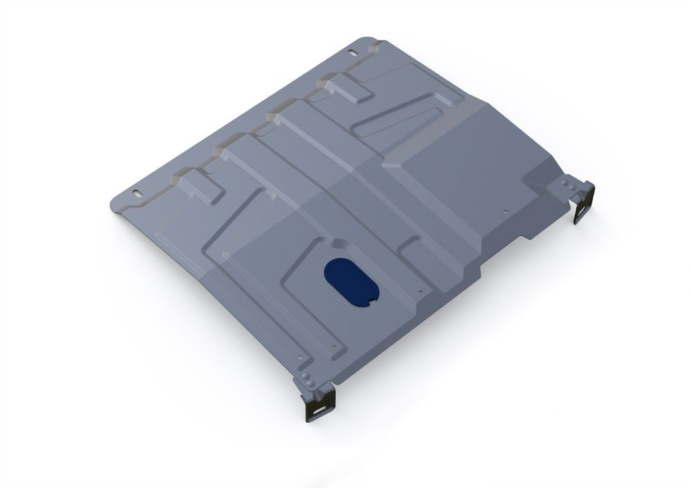 Защита картера и КПП Rival, для Lada Granta, алюминий 3 мм. 333.6016.11004900000360Защита картера и КПП для Lada Granta АКПП V - все 2011-, крепеж в комплекте, алюминий 3 мм, Rival Алюминиевые защиты картера Rival надежно защищают днище вашего автомобиля от повреждений, например при наезде на бордюры, а также выполняют эстетическую функцию при установке на высокие автомобили. - Толщина алюминиевых защит в 2 раза толще стальных, а вес при этом меньше до 30%. - Отлично отводит тепло от двигателя своей поверхностью, что спасает двигатель от перегрева в летний период или при высоких нагрузках. - В отличие от стальных, алюминиевые защиты не поддаются коррозии, что гарантирует срок службы защит более 5 лет. - Покрываются порошковой краской, что надолго сохраняет первоначальный вид новой защиты и защищает от гальванической коррозии. - Глубокий штамп дополнительно усиливает конструкцию защиты. - Подштамповка в местах крепления защищает крепеж от срезания. - Технологические отверстия там, где они необходимы для смены масла и слива воды, оборудованные заглушками, надежно закрепленными на защите. Уважаемые клиенты! Обращаем ваше внимание, на тот факт, что защита имеет форму, соответствующую модели данного автомобиля. Фото служит для визуального восприятия товара.