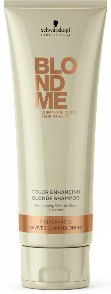 Blondme Шампунь для теплых оттенков блонд Blondme RichCaramel 250 мл72523WDБлондМи Шампунь для теплых оттенков блонд. Поддерживает теплое направление тона. Рекомендуется использовать в комплексе с маской и; или кондиционером BM BlondeMe.