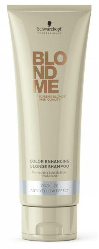 Blondme Шампунь для холодных оттенков Blondme Shampoo Cool-Ice 250 млAC-1121RDБлондМи Шампунь для холодных оттенков блонд. Нейтрализует теплые оттенки и поддерживает холодное направление тона. Рекомендуется использовать в комплексе с маской и; или кондиционером BM BlondeMe.