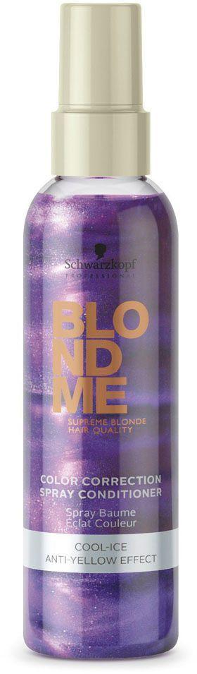Blondme Спрей-кондиционер для холодных оттенков блонд Blondme Spray Conditioner Cool-Ice 150 мл1923019БлондМи Спрей-кондиционер для холодных оттенков блонд. Обеспечивает экспресс нейтрализацию теплых пигментов и усиливает блеск холодных оттенков блонд. содержит УФ фильтры.