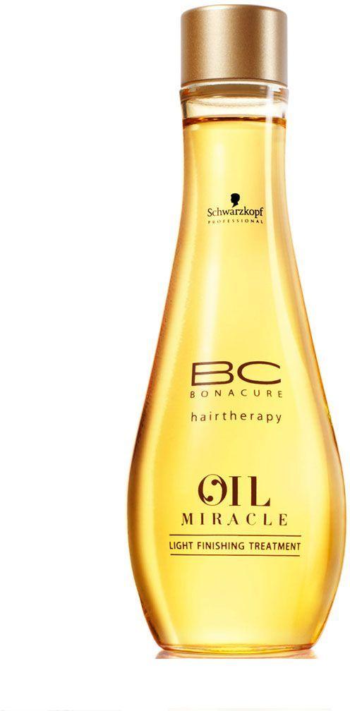 Bonacure Масло для тонких и нормальных волос Oil Miracle light treatment 100 млMP59.4DЛегкое, ухаживающее масло подходит даже для тонких волос. Содержит изысканное масло маруры, которое интенсивно питает волосы делая их мягкими и послушными. Рекомендуется использовать в комплексе с шампунем BC Oil Miracle light .