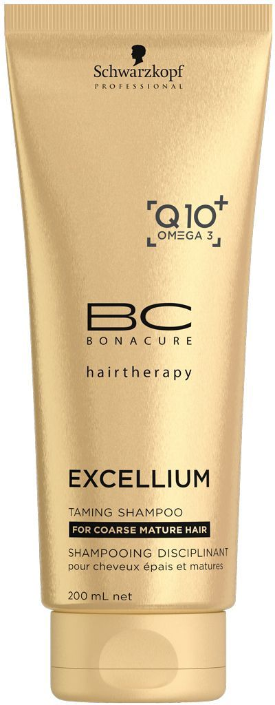 Bonacure Смягчающий шампунь Excellium Taming Shampoo 200 мл bonacure смягчающая маска excellium taming treatment 150 мл