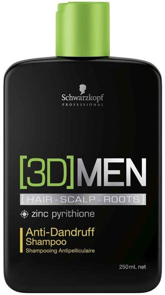 [3D]Men Шампунь против перхоти Anti-Dandruff Shampoo 250 млC5643810Шампунь против перхоти. Для мужчин. Мгновенное и эффективное устранение перхоти. Кератин придает волосам силу. Аллантоин снимает зуд и уменьшает покраснения, свойственные коже головы под влиянием перхоти. Цинк Пиритион известен, как лучшее средство против образования перхоти, эффективно и мягко устранаяет перхоть. Для достижения максимального результата рекомендуется использовать в комплексе с тоником против перхоти [3D]MEN Anti-Dandruff.