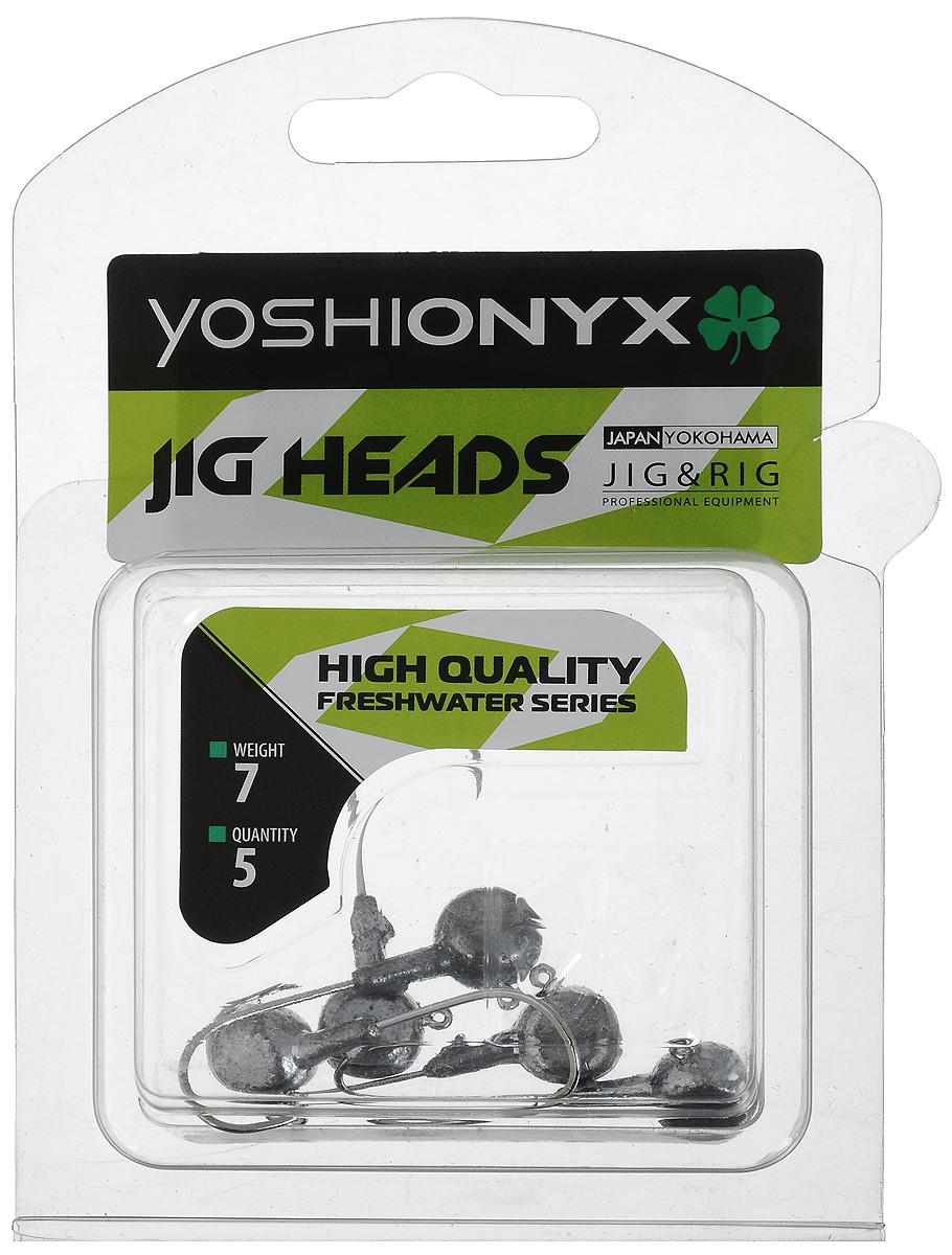Джигголовка Yoshi Onyx JIG Bros. Аспирин, крючок Gamakatsu, 7 г, 5 шт4271825Джиг-головки Yoshi Onyx JIG Bros. Аспирин предназначены для ловли хищной рыбы, с использованием самых разных вариантов проводок на мягкие приманки. Это может быть и ступенчатая проводка по дну, и волнообразная в толще воды, и даже обычная ровная проводка. Джиг-головка оснащена крючком Gamakatsu. Такой крючок прекрасно пробивает жесткую пасть крупного судака, щуки и сома.Вес: 7 г.Количество: 5 шт.