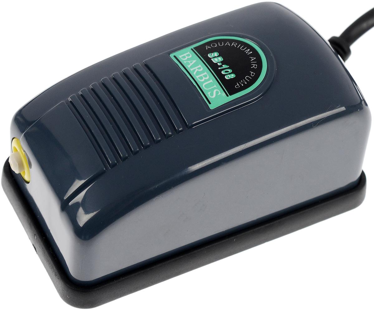 Компрессор воздушный Barbus, с регулятором, 3 л/мин0120710Воздушный компрессор Barbus изготовлен из высококачественных материалов для снижения шума и вибрации. Изделие оснащено регулятором скорости потока воздуха.Мощность: 2,5 Вт.Напряжение: 220-240В.Частота: 50/60 Гц.Производительность: 3 л/мин.Рекомендуемый объем аквариума: 0-50 л.Уважаемые клиенты!Обращаем ваше внимание навозможныеизмененияв цветенекоторых деталейтовара. Поставка осуществляется в зависимости от наличия на складе.